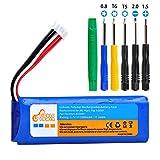 Pickle Power 3200mAh Battery for JBL Flip 3 JBLFLIP3GRAY, Fits GSP872693