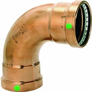 Viega 20628 ProPress Zero Lead Copper XL-C 90-Degree Elbow with 3-Inch P x P by Viega