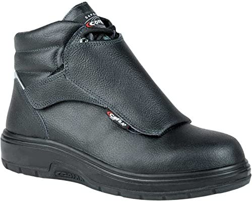 COFRA Leather Work Boots - gift HEAT SHIELD with Footwear Large discharge sale C Treadless