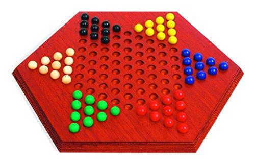 Games of Antiquity Large Hexagonal Chinese Checkers (Padauk wood)
