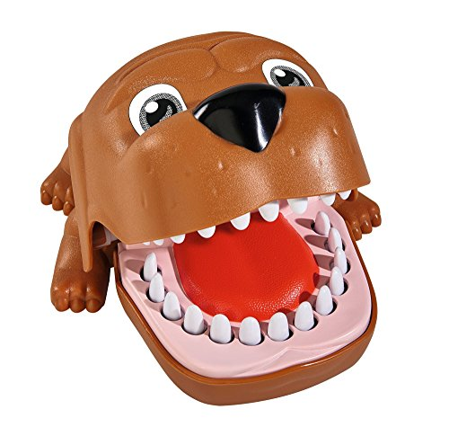 Simba 106064050 - Games & More Bulldog Biss Finger 18 cm