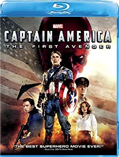 Captain America: The First Avenger | Blu-ray | Arabic Subtitle Incuded