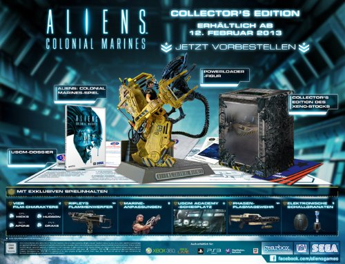 Aliens: Colonial Marines Collector's Edition