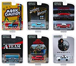New DIECAST Toys CAR 1:64 Hollywood Series 23 Assortment Set of 6 44830 Greenlight