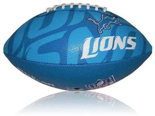 Wilson Football NFL Junior Detroit Lions Logo, Mehrfarbig, 5, WL0206744040