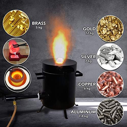5 Kg Metal Melting Furnace Precious Metal Melting Gold Silver Copper Brass Bronze