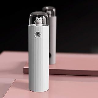 4 En 1 Adjustable Portátil Ventilador,Mini Evaporativo Enfriador De Aire Usb Mano Ventilador 3 Velocidades Humidificador Móvil Luz Habitación Oficina Coche Viaje C 4.3*4.3*16.1cm/1.69''x1.69''x6.3''