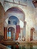 Kunstdruck/Poster: Adolf Seel In der Alhambra -