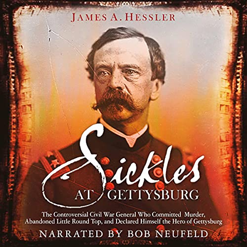 『Sickles at Gettysburg』のカバーアート