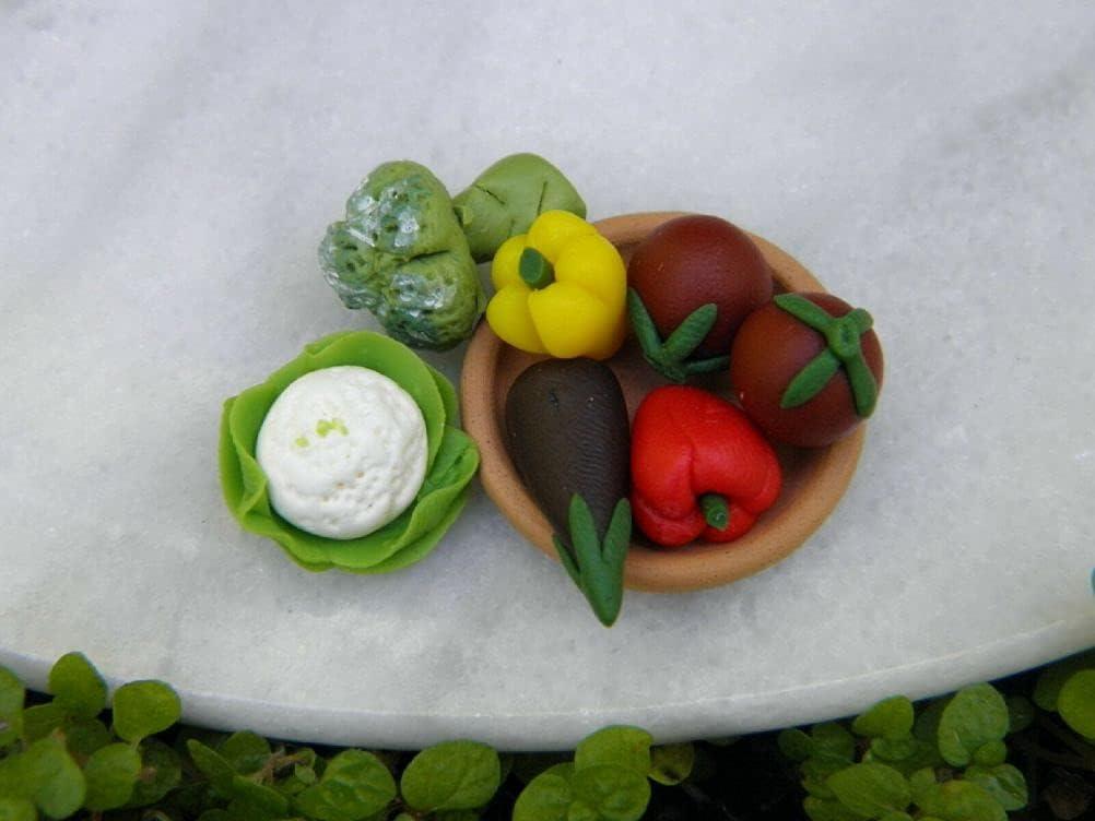 SYTZ Miniature Dollhouse Spasm price Fairy Garden Max 44% OFF Accessories 7 Assort Piece