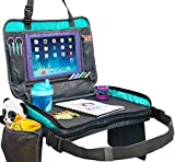 Product Image of the Kids Travel Tray with Versatile Detacheable Top & Bottom parts for best fit. 4...