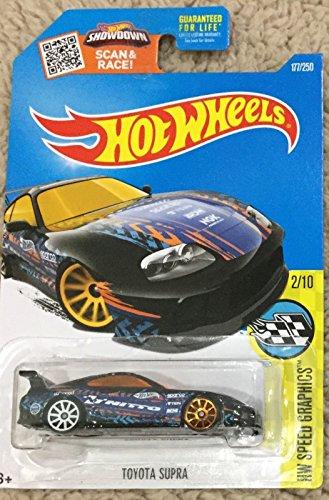 Hot Wheels Speed Graphics Series Toyota Supra 177/250, black