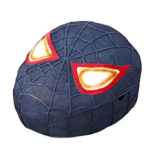 El material retro de la resina de cenicero de Spiderman es adecuado para cenicero a prueba de viento en interiores o exteriores con tapa, para cenicero de escritorio de fumadores, para oficina en casa