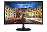 Samsung CF390 Series 27 inch FHD 1920x1080 Curved Desktop Monitor for Business, HDMI, VGA, VESA mountable, 3-Year Warranty, TAA (C27F390FHN), Black