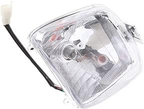 Gazechimp 12V 35W Front Headlight Headlamp Driving Light for 50cc 70cc 90cc 110cc 125cc TaoTao Chinese Quad 4 Stroke ATV 4 Wheeler Go Kart Dirt Bike