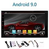 Android 9.0 CPU 6 de Base 4G + 32Go Simple Din Voiture stéréo avec 7 Pouces HD écran Tactile pour Universal 1 Véhicules Din Dash Navigation GPS Headunit WiFi Support / 4G / DVR/Dab/Commande a