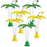 Sweet World Palm Tree Luau Yard Cups Party...