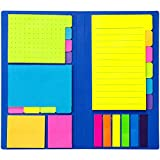 Colored Divider Sticky Notes Bundle Set by heartybay, Prioritize...