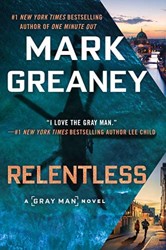 Relentless Gray Man Book 10 product image