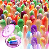 MOLDEX Sparkplugs Soft Foam Ear Plugs 50 Pairs Earplugs - 33dB Highest NRR Made in USA