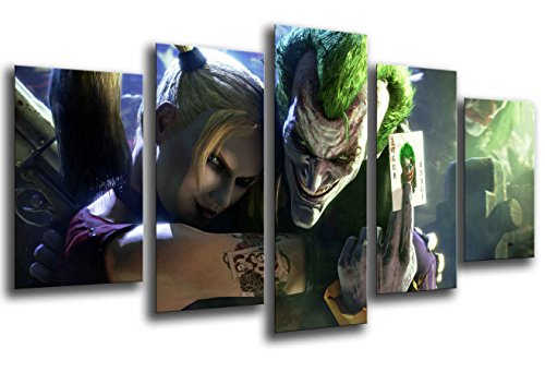 Cuadro Fotográfico El Joker, Batman Tamaño total: 165 x 62 cm XXL