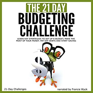 The 21-Day Budgeting Challenge audiobook cover art