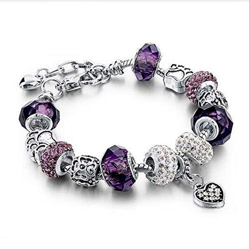 Armband Mode Buddha Yoga Rosa Armbänder Armreifen Für Frauen Elastische Natürliche Tigerauge Stein Perlen Schmuck Armbänder Sbr150056Pl