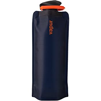 Vapur Eclipse Collapsible Water Bottle - with Leak Free Super Cap - BPA Free Bottle - With Carabiner