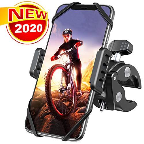 Handyhalterung Fahrrad, DesertWest Universal 360° Drehung Motorrad Handyhalterung für iPhone SE 2020/11/Samsung S20/S10/ Note10/HUAWEI Xiaomi LG usw. Handyhalter für Rennrad Mountainbike Kinderwagen