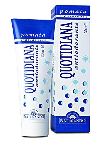 Naturando Quotidiana Antiodorante Pomata, Previene Il Cattivo Odore Ostacolando la Degradazione del...