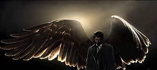 Supernatural Castiel Wings Wall Art, Pop Art, Poster, Art Prints   Rare Posters