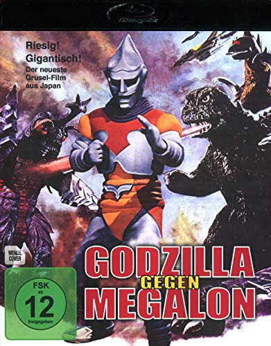 Godzilla gegen Megalon [Blu-ray]