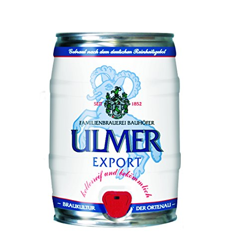 Ulmer Export Partyfass 5,0 Liter 5,4% vol.