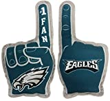 Pets First NFL Philadelphia Eagles #1 Fan Toy for Dogs & Cats. Best Tough PET Toy with Inner Squeaker, Team Color, one Size (PHL-3277)