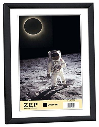 ZEP KB11 Collection Cornice per Foto in Resina, Formato A4, 21 x 29,7 cm Nero, plastica