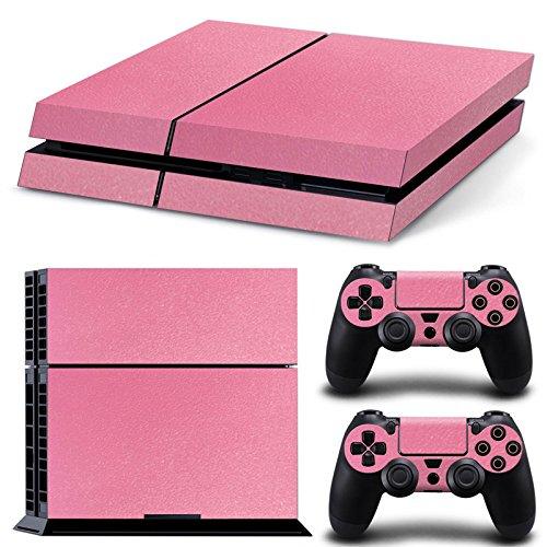 Mcbazel Pattern Serie Decals Vinyl Skin Aufkleber für PS4 (Pink)