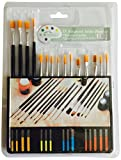 15 Pieces Assorted Artist Brushes in A Pack by Yiyongle