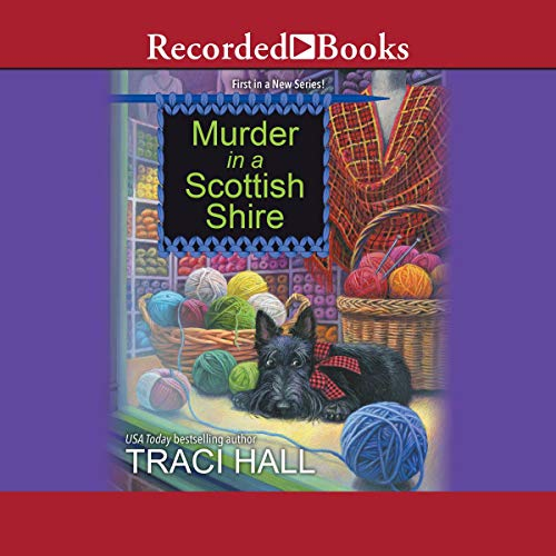 Murder in a Scottish Shire audiobook cover art