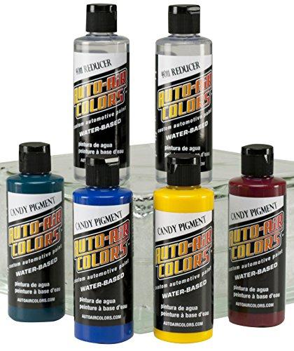 Auto Air Farben Candy Pigment Farben Set A, 113,4g.