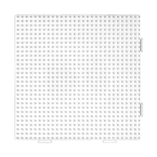 Hama–234tr–Kreativset–Midi Platte–quadratisch assemblable transparent