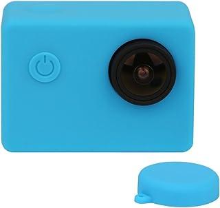 Capa Case Protetora Silicone Para Câmeras SJCam SJ5000 Cor Azul