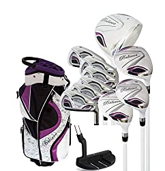 cheap Founders Club Believe Ladies Complete Golf Kit-Purple-Right Handed