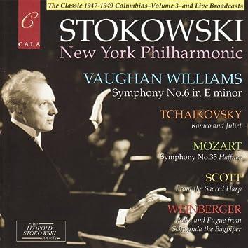 Vaughan Williams: Symphony No.6 - Mozart: Symphony No.35 - Tchaikovsky, Scott and Weinberger