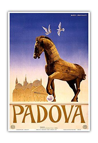 Pacifica Island Art Padua, Italia-Caballo de Troya-La Basílica Pontificia de San Antonio...