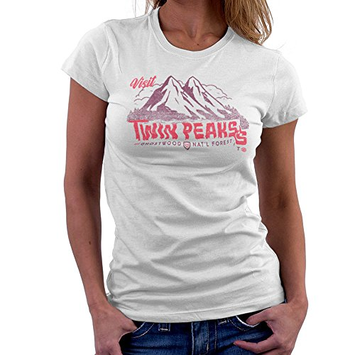 Visit Twin Peaks and Ghostwood National Forest Burgundy Women's T-Shirt