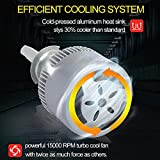 2x H3 3000K Luz de niebla amarilla DIRIGIÓ Kit de conversión de faros bombillas de alta luz baja (Type : Def)