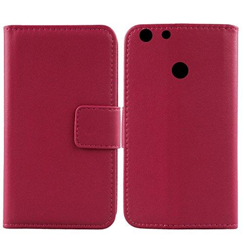 Gukas Design Echt Leder Tasche Für Archos 55 Diamond Selfie Lite 5.5