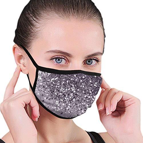 NA Funkelnde Lavendel-Maske mit Glitzer, Gl & numde Dekoration, für Gesichtsmaske