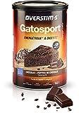 OVERSTIM.s – Gatosport (400g) - Chocolat – Petit déjeuner énergétique avant effort – Très digeste - Facile et rapide à préparer