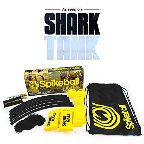 Spikeball Game Set (3 Ball Kit) - Game for The Backyard, Beach, Park, Indoors